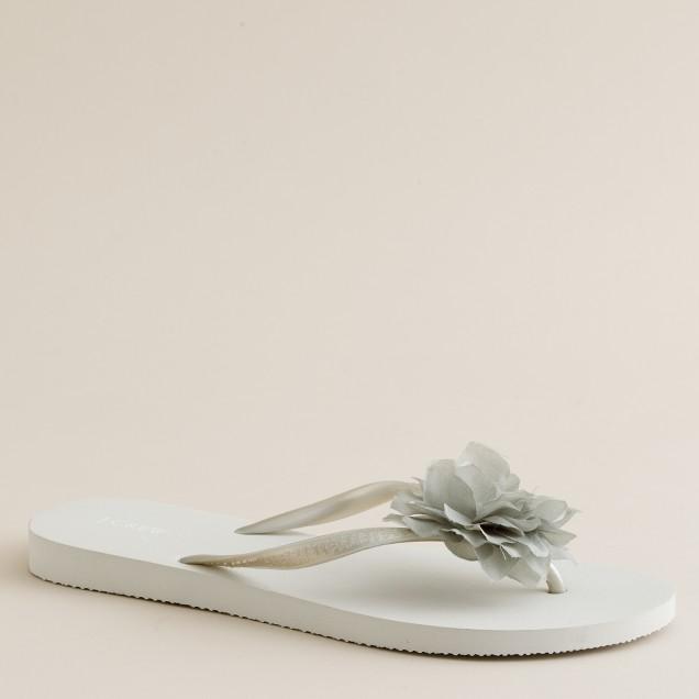 Peony flip-flops