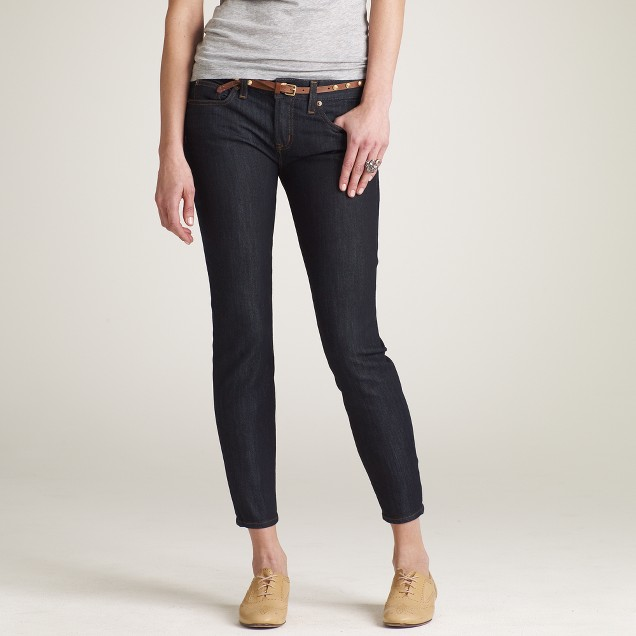 Ankle stretch toothpick jean in twilight wash