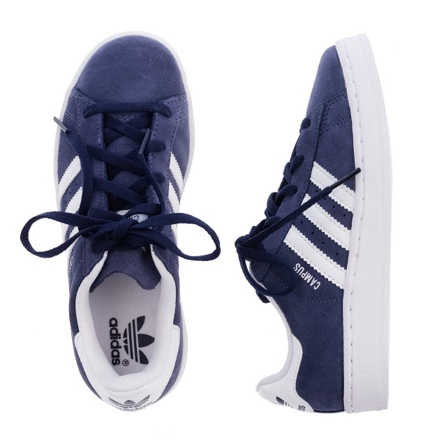 Kids' Adidas® navy campus sneakers
