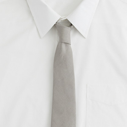 Irish linen Highland tie