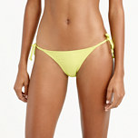 String hipster bikini bottom in Italian matte