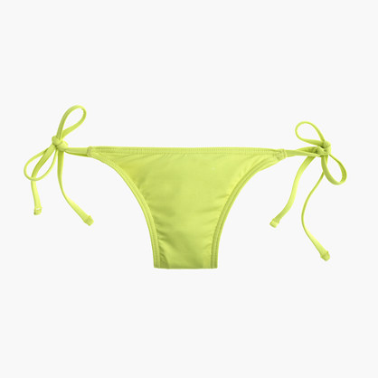String hipster bikini bottom in Italian matte