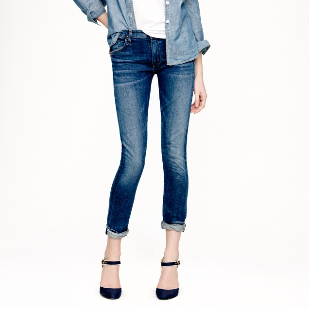 Goldsign® for J.Crew Jenny selvedge jean in debut wash