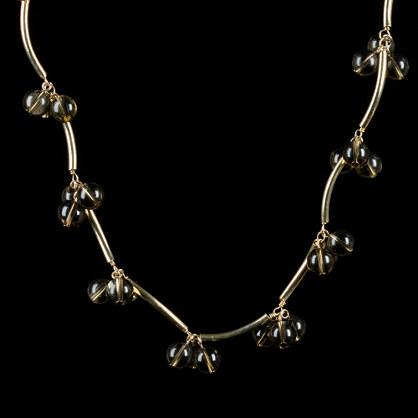 Cherry-blossom necklace