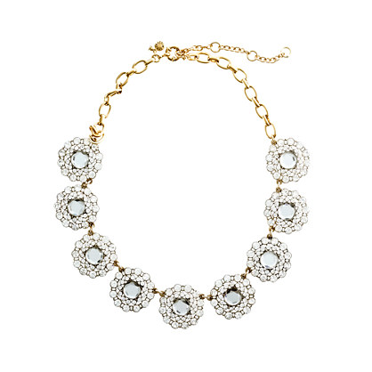 Crystal circle necklace