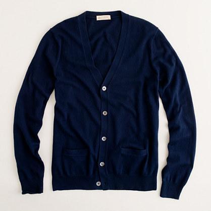Cotton-cashmere cardigan