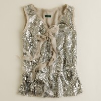 Sequined deco top