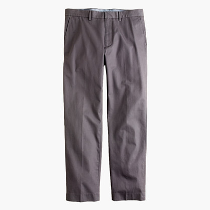 Bowery classic pant in cotton twill