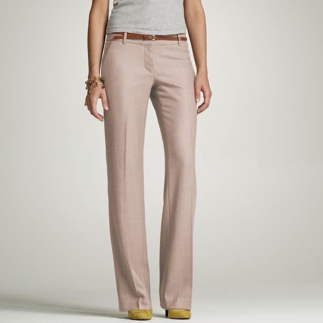 Wool twill studio trouser