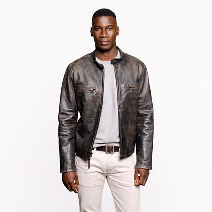 Tall Stockton racer jacket