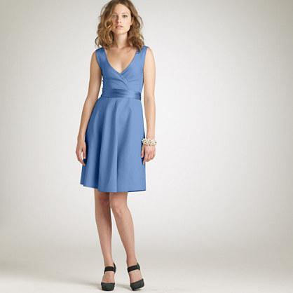 Cotton cady Serena dress