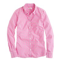 Tall perfect shirt in mini-gingham