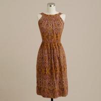 Shimmer paisley lawn dress