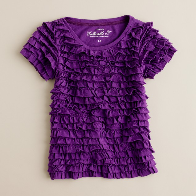 Girls' flamenco tee