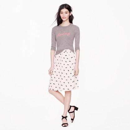 Collection petite little skunks skirt