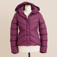 Sherpa puffer jacket