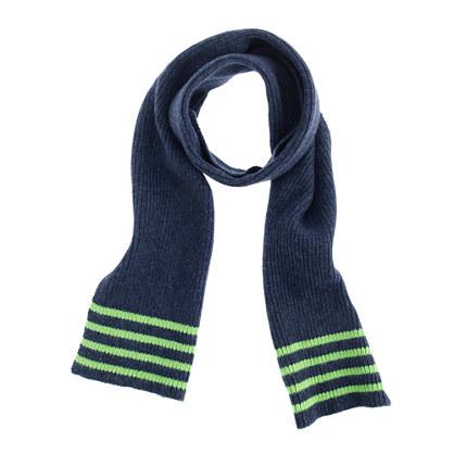 Boys' tipped scarf
