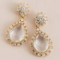 Crystal soiree earrings
