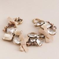 Jeweled garland bracelet