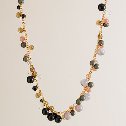Scattered-glass necklace
