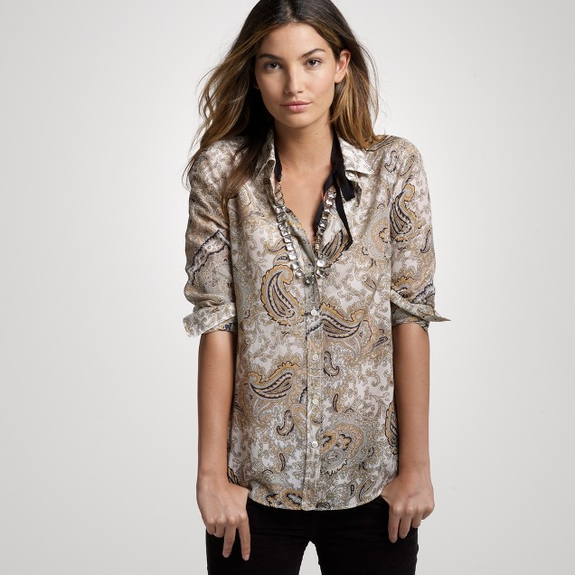 Paisley perfect shirt