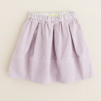 Girls' stretch corduroy pleated skirt