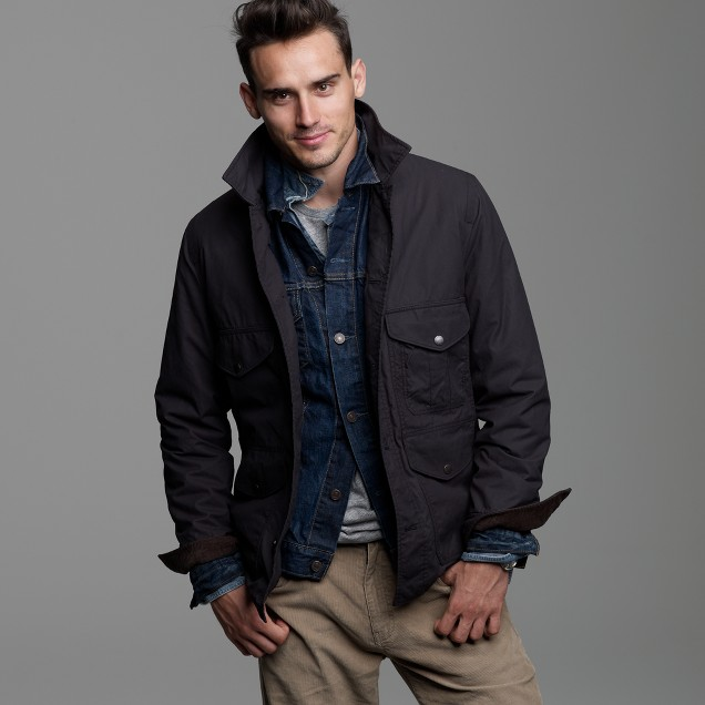 Oilcloth Langham jacket