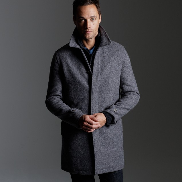 Wool walking coat : | J.Crew