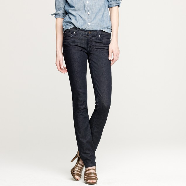 Matchstick jean in dark rinse wash