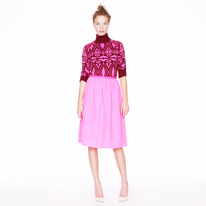 Collection pink shimmer skirt