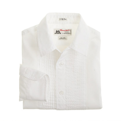 Boys' Thomas Mason® for crewcuts tuxedo shirt