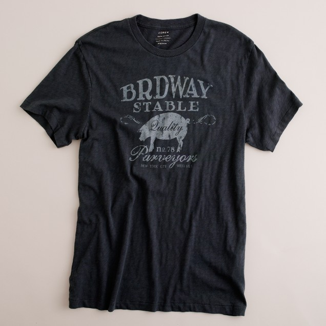 Broadway stable graphic tee