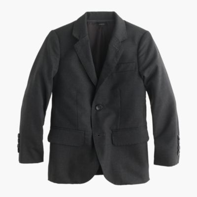 Boys' Ludlow suit jacket in Italian wool