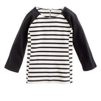 Raglan sailor top