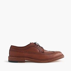 Alden® for J.Crew waxed longwing bluchers