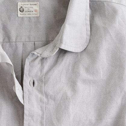 Pinpoint oxford club-collar shirt