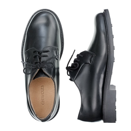 Kids' leather oxfords