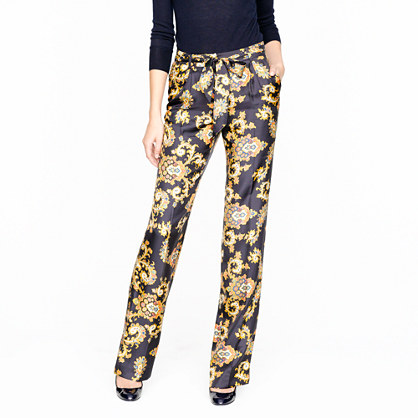 Collection golden paisley pant