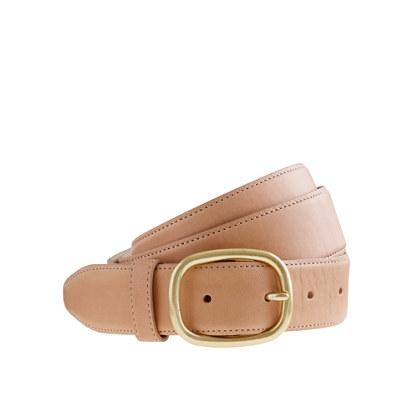 Vachetta belt