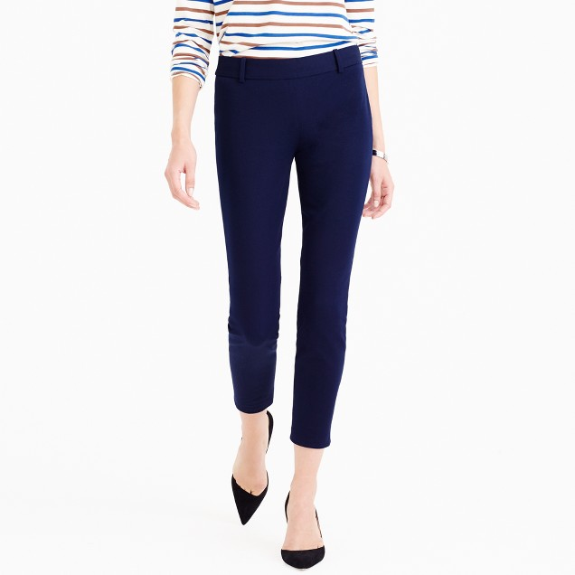 Tall Minnie pant in stretch twill