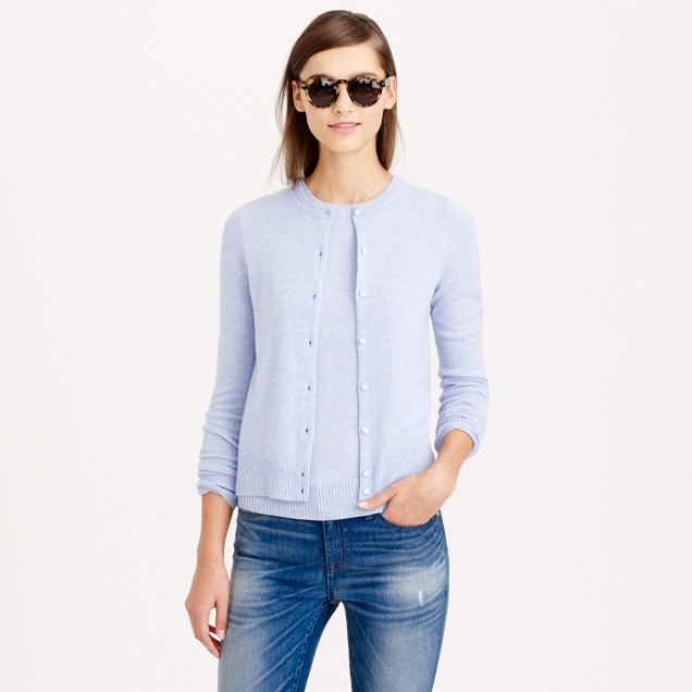Collection cashmere cardigan sweater : | J.Crew