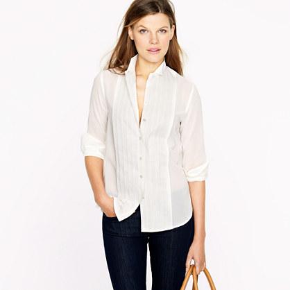 Tuxedo shirt in Thomas Mason® fabric