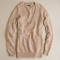 Donegal pocket V-neck sweater