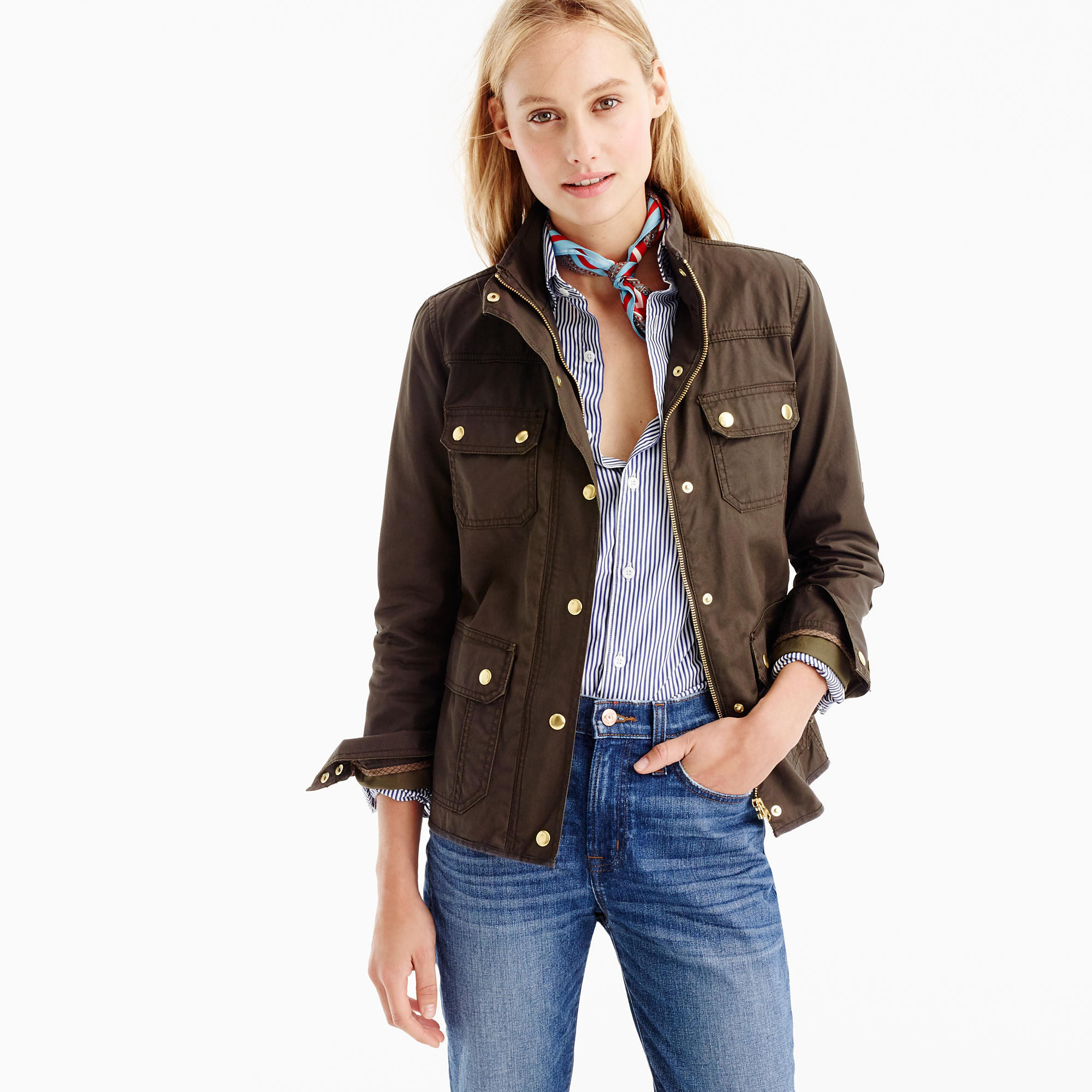 The Downtown Field Jacket : Women's Coats & Jackets | J.Crew