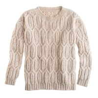 Nili Lotan® open cable sweater
