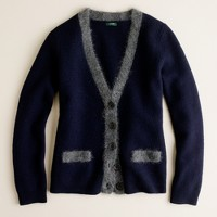 The collegiate cardigan