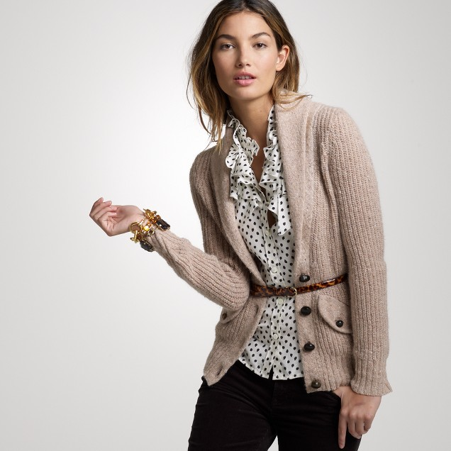 Donegal shawl cardigan