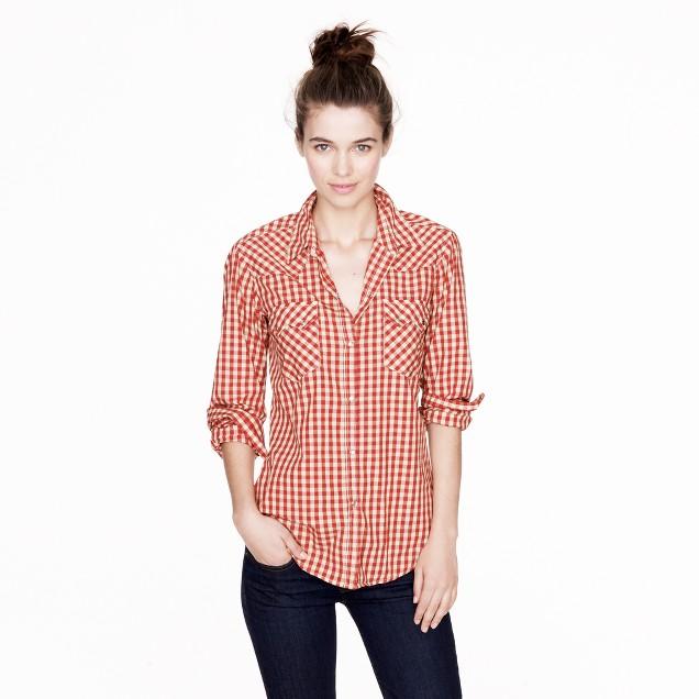 Nili Lotan® western shirt