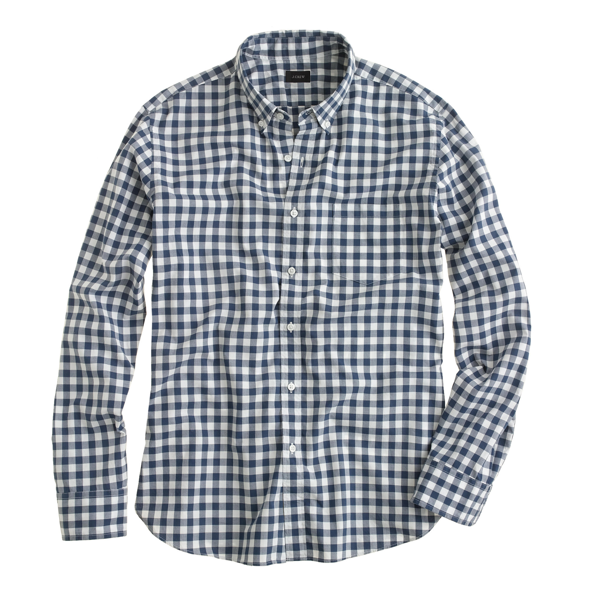 Secret Wash Shirt In Faded Gingham : Men's Shirts | J.Crew