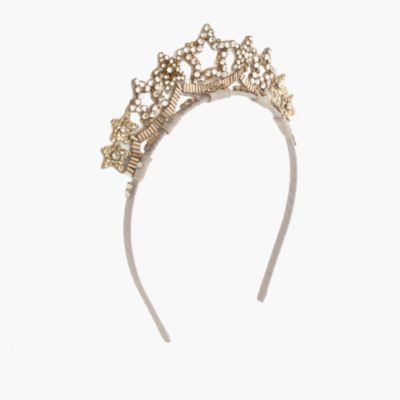 Girls' star crown headband